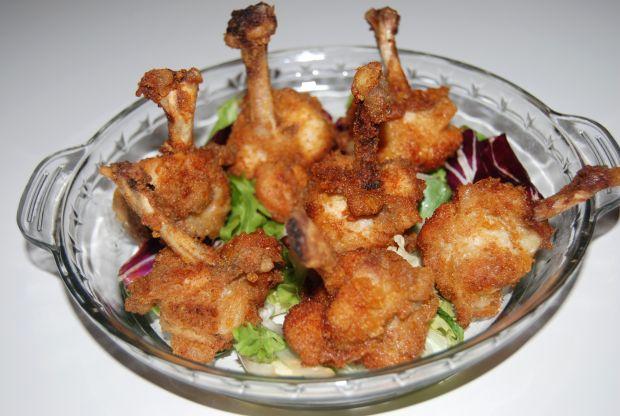Skrzydełka z kurczaka w chrupiącej panierce