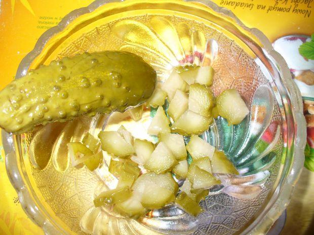 Śledziowa sałatka z papryką