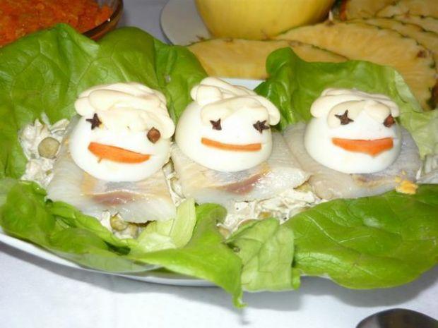 Śledziowe żabki