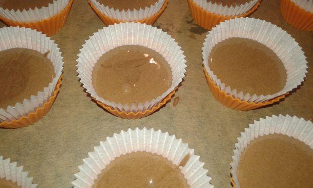 Śliwkowo - czekoladowe babeczki