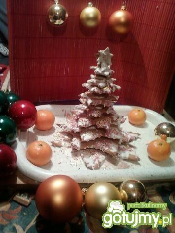 Słodka choinka bożonarodzeniowa