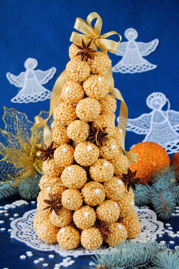 Słodka choinka na świąteczny stół