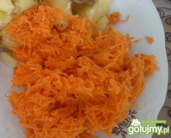 Słodka marchewka do obiadu