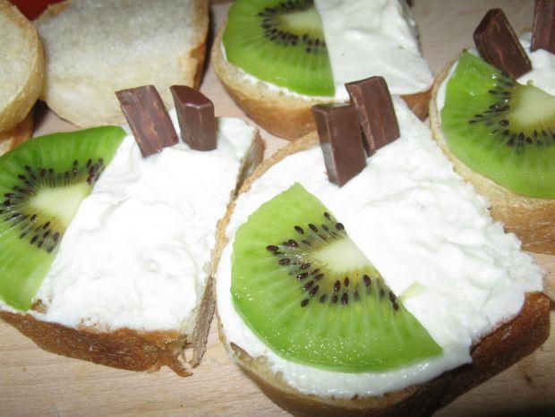 Słodkie tartinki