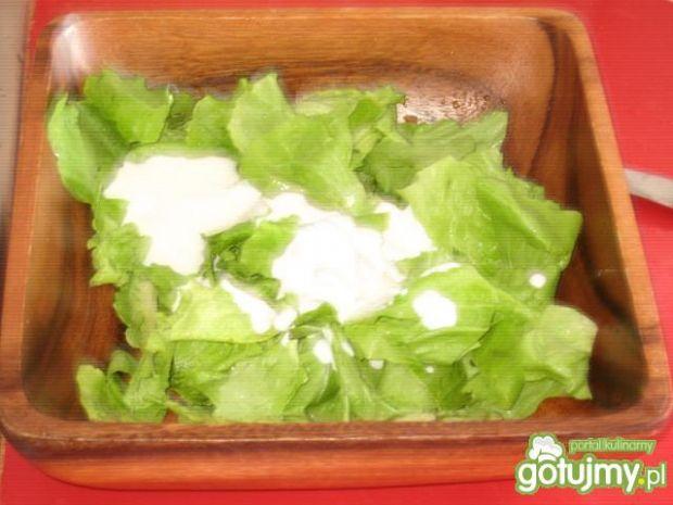 Słodko- kwaśna sałatka do obiadu