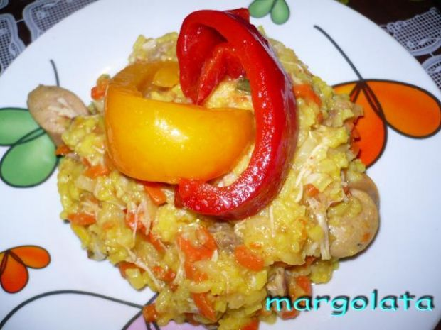 Słodko-pikantny ryż z....