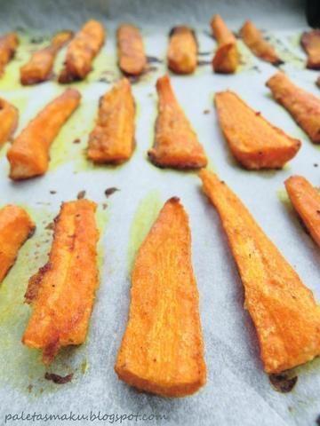 Słoko - pikantne paluszki marchewkowe