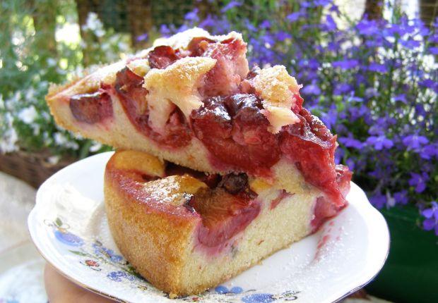 Smaczne, łatwe, szybkie ciasto śliwkowe