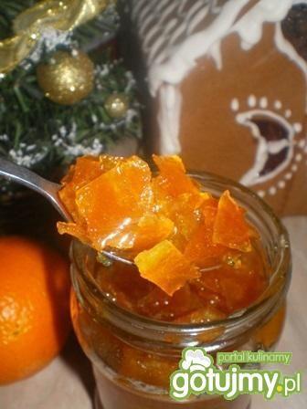Smażona skórka pomarańczowa w syropie