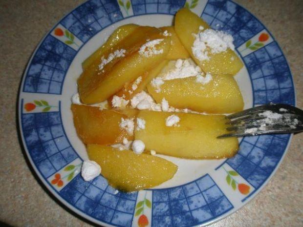 Smażone jabłka