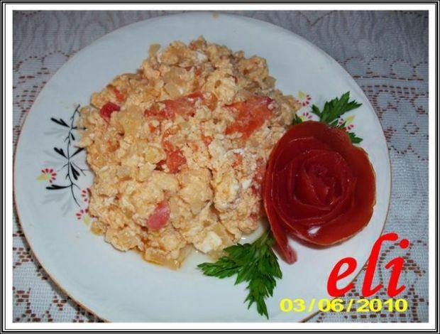 Smażonka Eli z pomidorami
