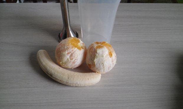 smoothie bananowo-pomarańczowe