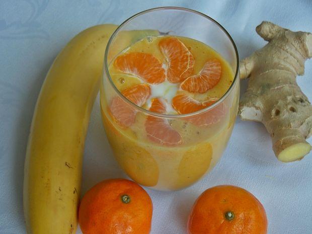 Smothie bananowo-mandarynkowe