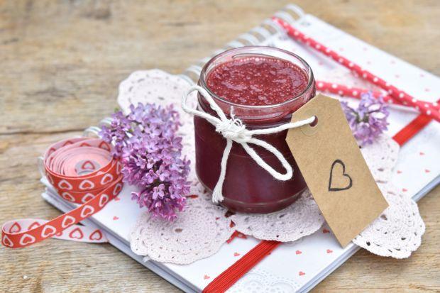 Smothie jagodowe na mleku migdałowym