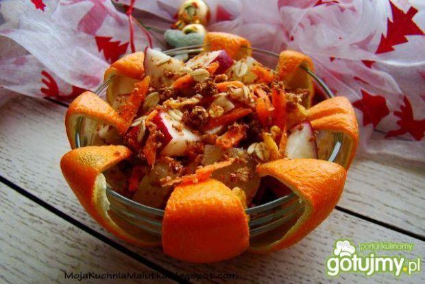 Śniadaniowa sałatka owocowa