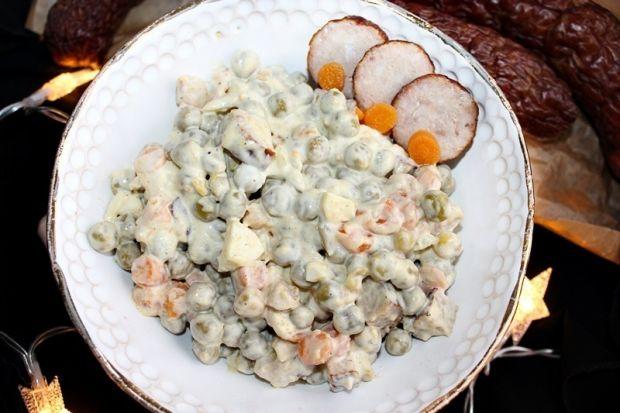 Śniadaniowa sałatka z jajkami