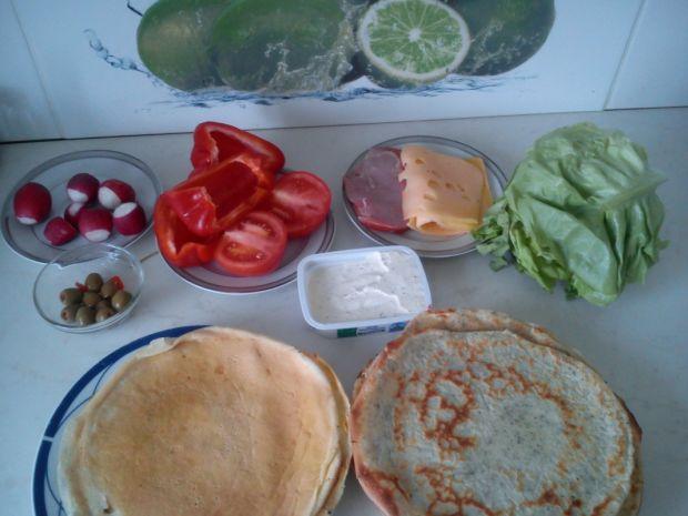 Śniadaniowe naleśniki