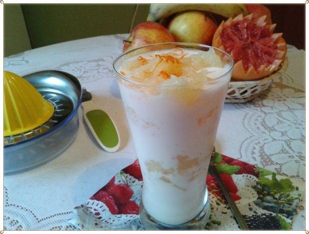 Śniadanko Fit czyli koktajl z grejpfrutem i anas.