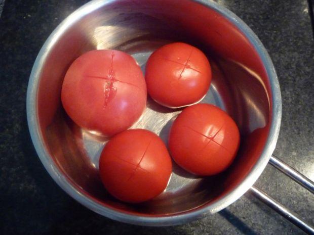 Soczewica z kurczakiem i pomidorami