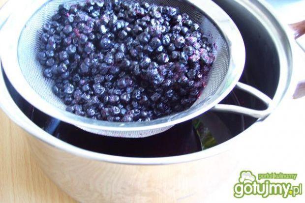 Sok i dżem z jagód 2 z 1