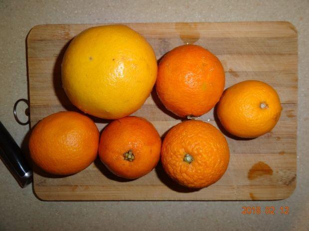 Sok pomarańczowo-grapefruitowy z miodem