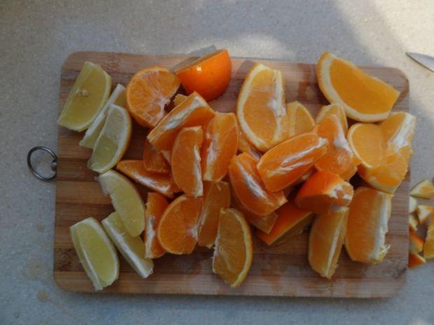 Sok pomarańczowo-mandarynkowo-cytrynowy