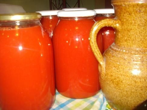 Sok pomidorowy- na zimę