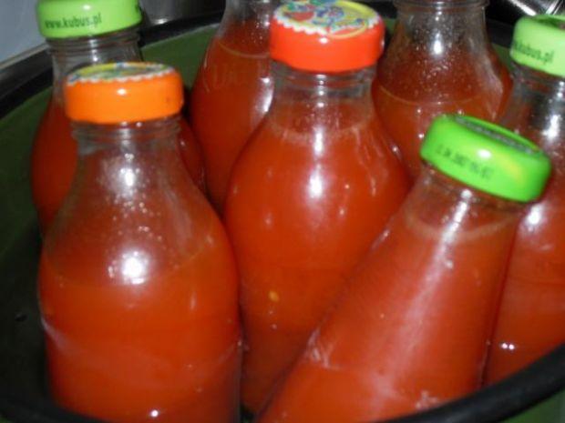 Sok pomidorowy wg starodawnego przepisu