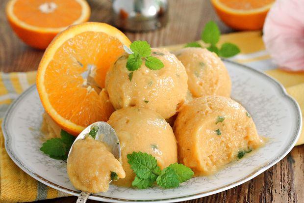 Sorbet mango z pomarańczem