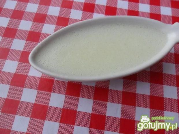Sos cebulowy biały