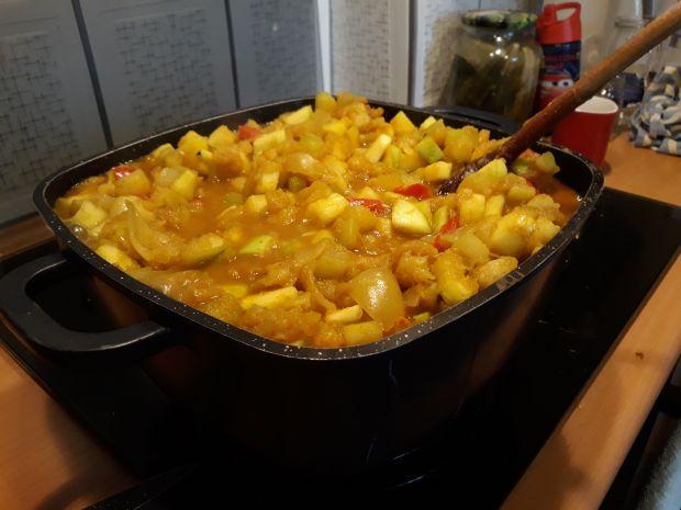 Sos cukiniowy z curry na zimę