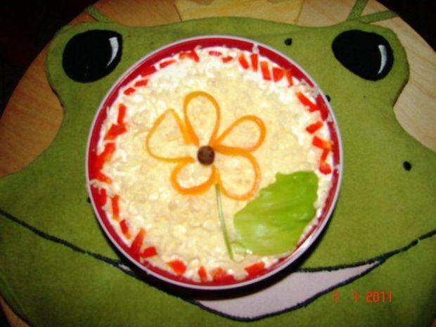 Sos czosnkowo-serowy