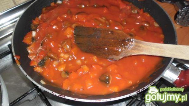 Sos do spagetti dla wege