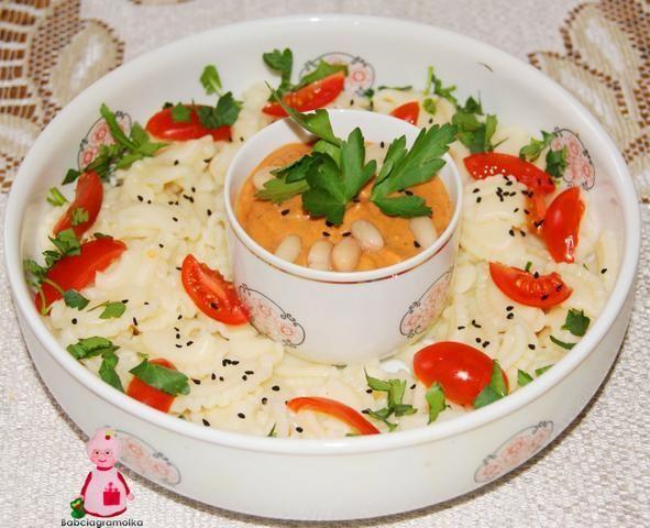 Sos fasolowo- pomidorowy :