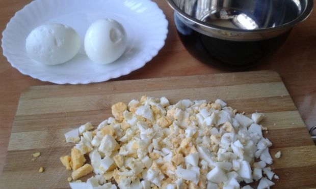 Sos jajeczno - chrzanowy