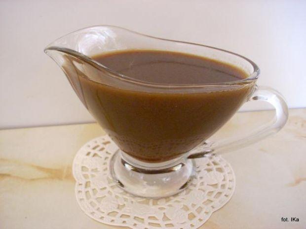 Sos karmelowy do deserów