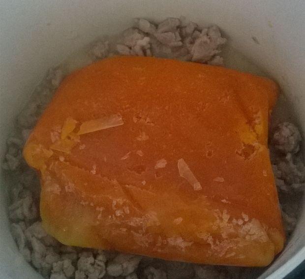 Sos mięsno - dyniowy do makaronu i ryżu.