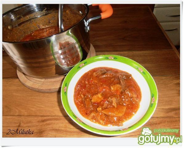 Sos mięsno pomidorowy
