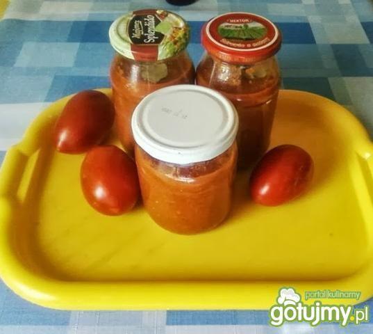 Sos pomidorowy.