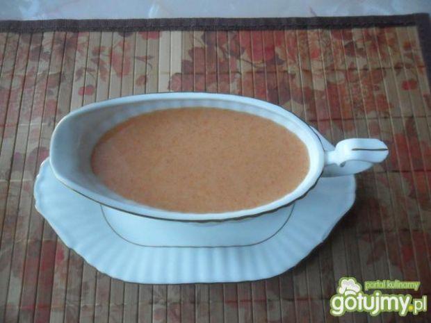 Sos pomidorowy łagodny z imbirową nutką