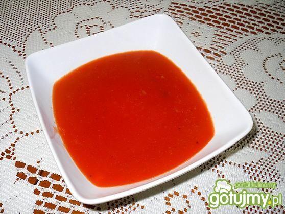 Sos pomidorowy na bulionie