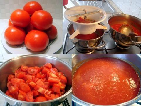 Sos pomidorowy wg Evi.