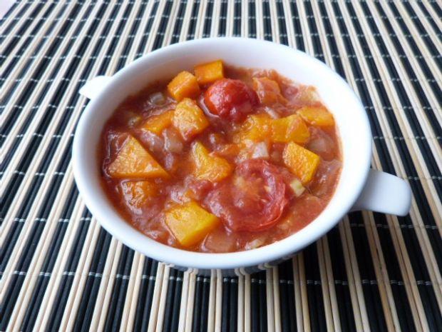 Sos pomidorowy z dynią