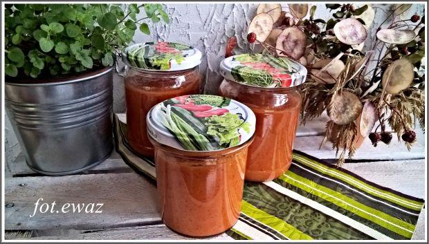 Sos warzywny - dary jesieni