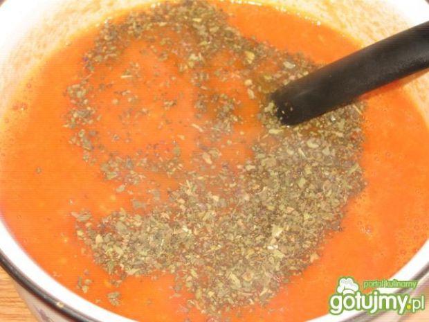 Sos ze świeżych pomidorów na rosole