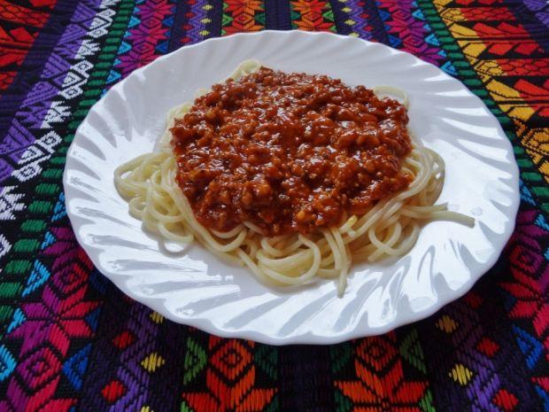 Spaghetti mięsne wg Megg
