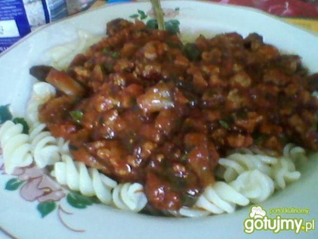Spaghetti z bazylią