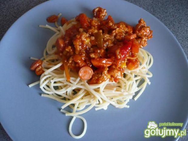 Spaghetti z mięskiem wg Elf