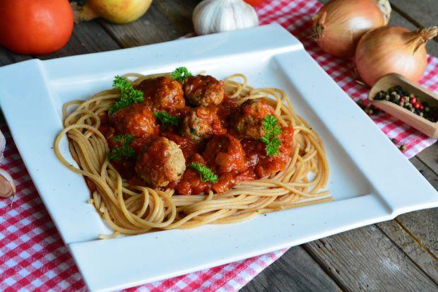 Spaghetti z mięsnymi kuleczkami