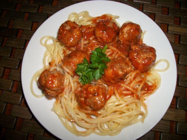 Spaghetti z pulpetami w sosie pomidorowym Zub3r'a
